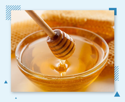 how to get rid of forehead pimple with honey
