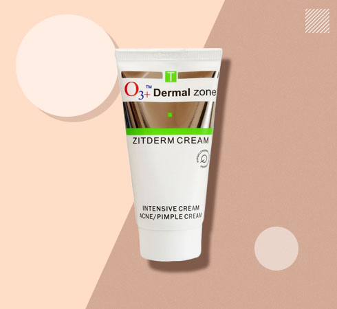 O3+ acne removal creams