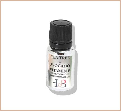 tea tree oil for pimples