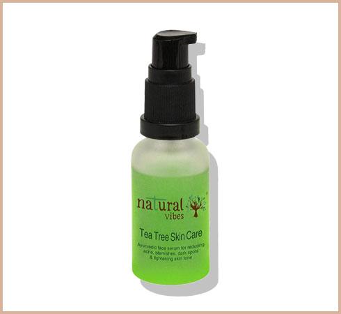 tea tree oil for acne scars