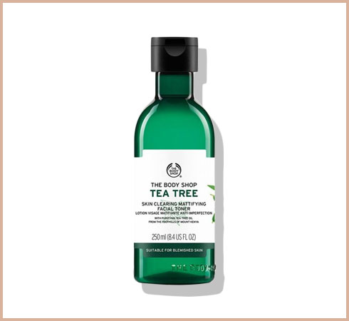 tea tree oil use for face with oily skin