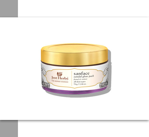 facial skin tightener from Just Herbs