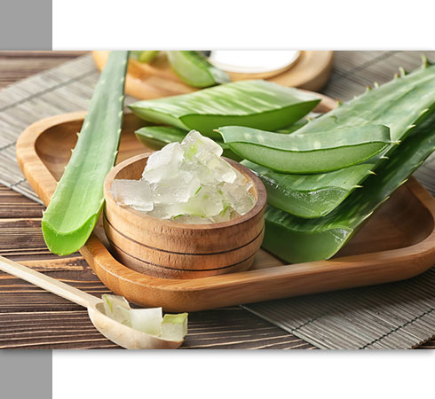 natural skin tightening-aloe vera