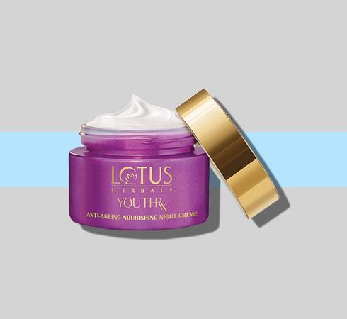 lotus night cream