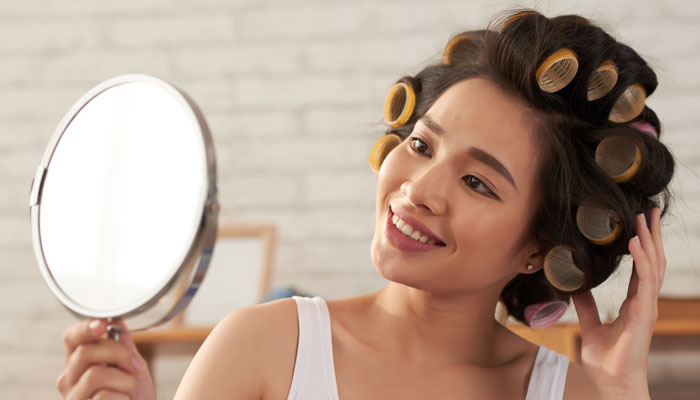 how to curl hair at home