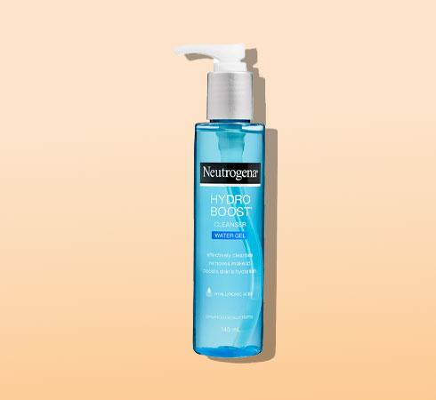 hyaluronic acid face wash - neutrogena