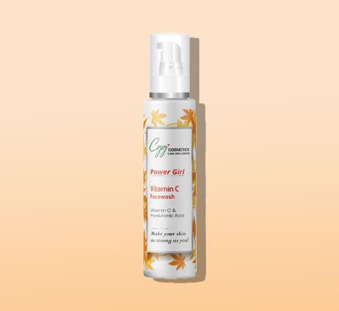 hyaluronic acid face wash – cgg cosmetics