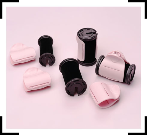 different type of curlers