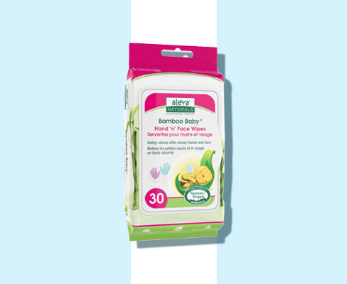 face cleansing wipes - aleva