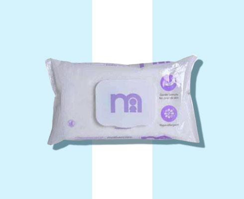 face cleansing wipes - mothercare