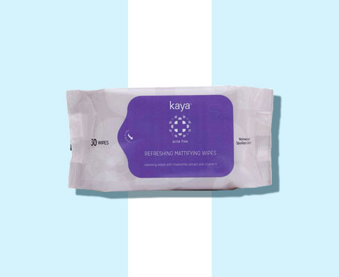 wet wipes for face - kaya