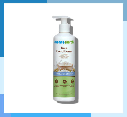 rice water for hair - mamaearth