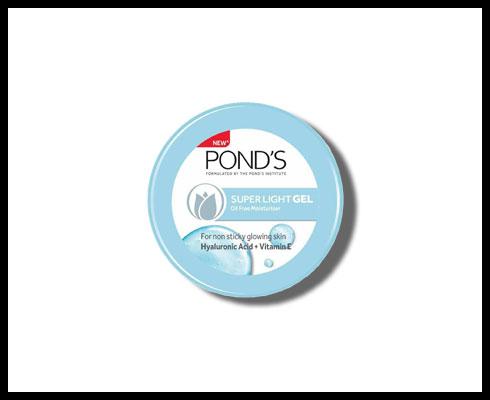 gel moisturizer – ponds super light gel
