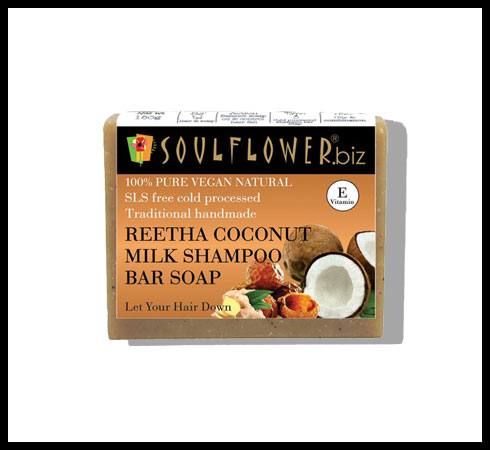 shampoo bar - soulflower