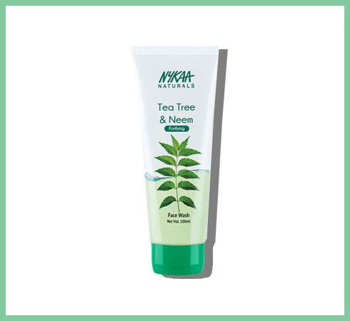 best neem face wash – nykaa naturals