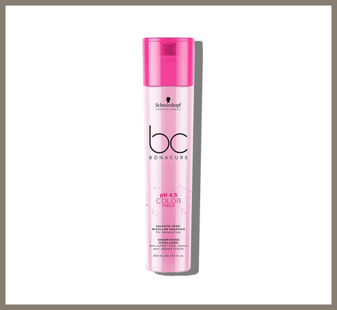 sulphate free shampoo for coloured hair