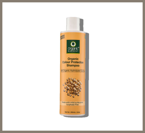 sulphate free shampoo for coloured hair – organic harvests