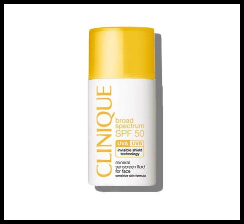 mineral sunscreen - clinique