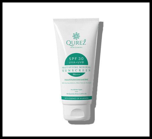 mineral sunscreen – qurez