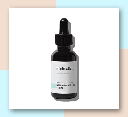 minimalist niacinamide serum
