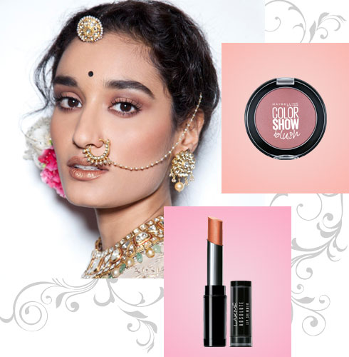 Indian Bridal Look – Blushed to Perfection