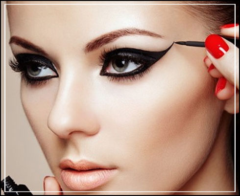 Types of eyeliner- liquid eyeliner