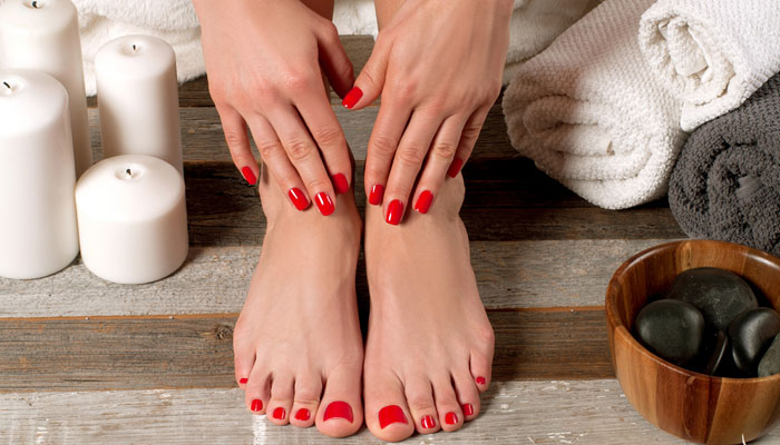 Grooming rules for hands and feet - 1