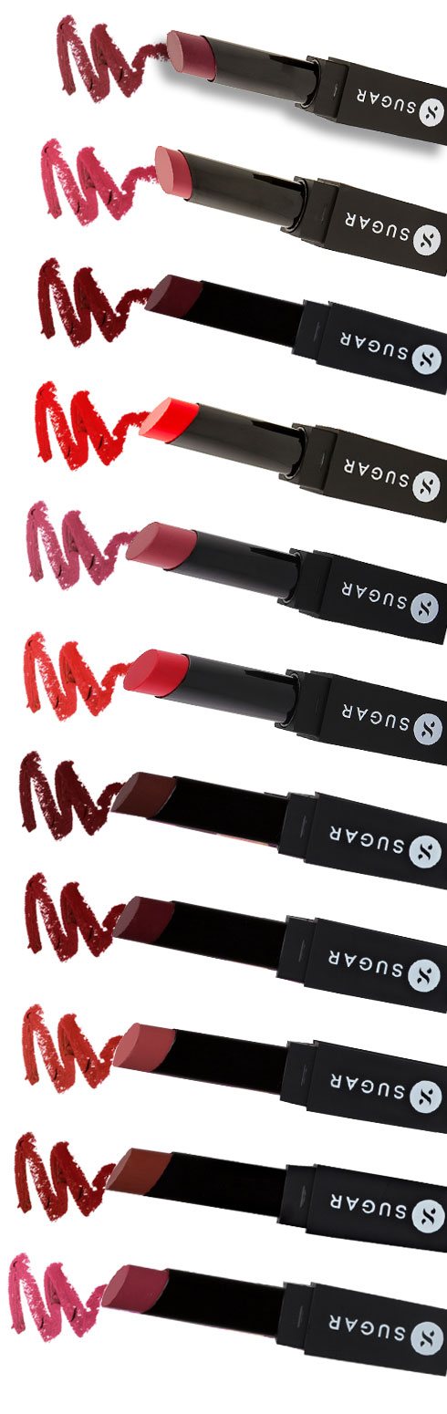Pout Away With SUGAR It's A-Pout Time! Vivid Lipsticks| 1