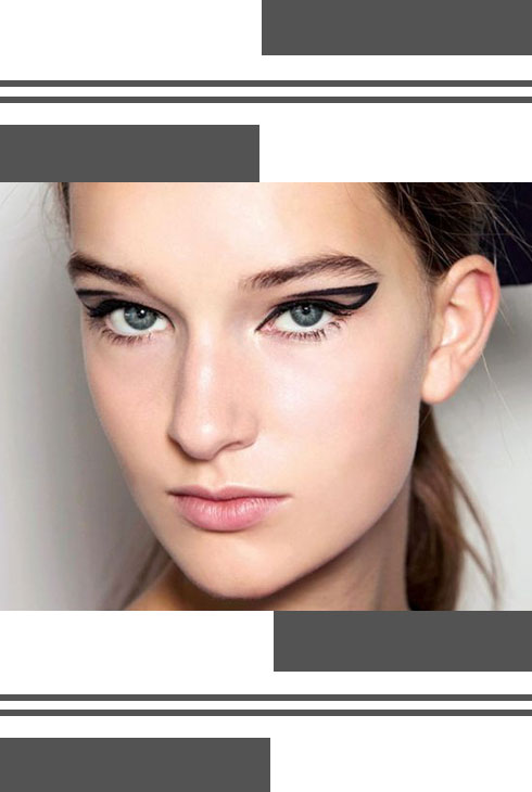 3 Dramatic Graphic Eye Looks Decoded - 1