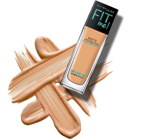 Best foundation for oily skin- Maybelline Fit Me