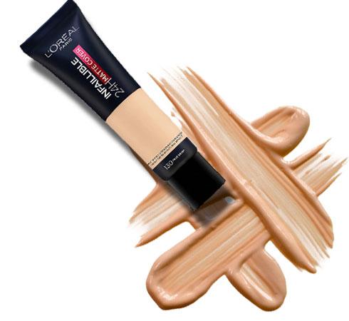 Foundation cream for oily skin- L'oreal Paris Infallible
