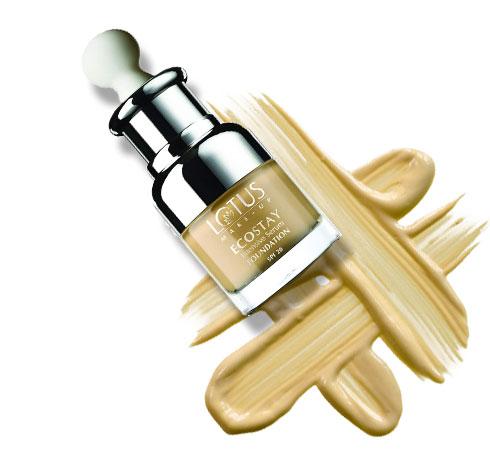: Foundation cream for dry skin- Lotus