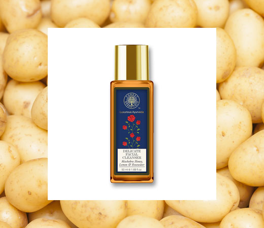 Glowing Skin Secrets- Potato, Honey & Rose Water