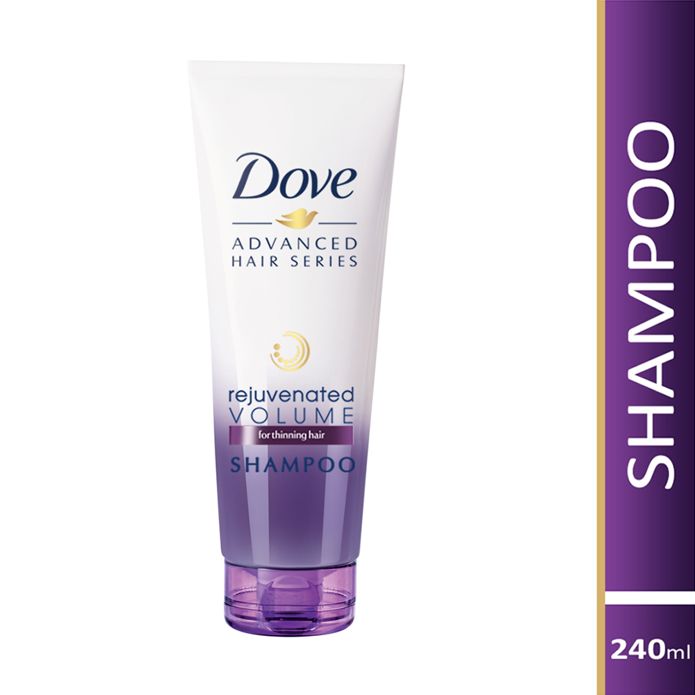 Dove Rejuvenated Volume Shampoo, 240ml