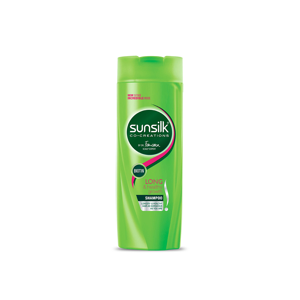 Sunsilk Long & Healthy Growth Shampoo  available at Nykaa for Rs.48