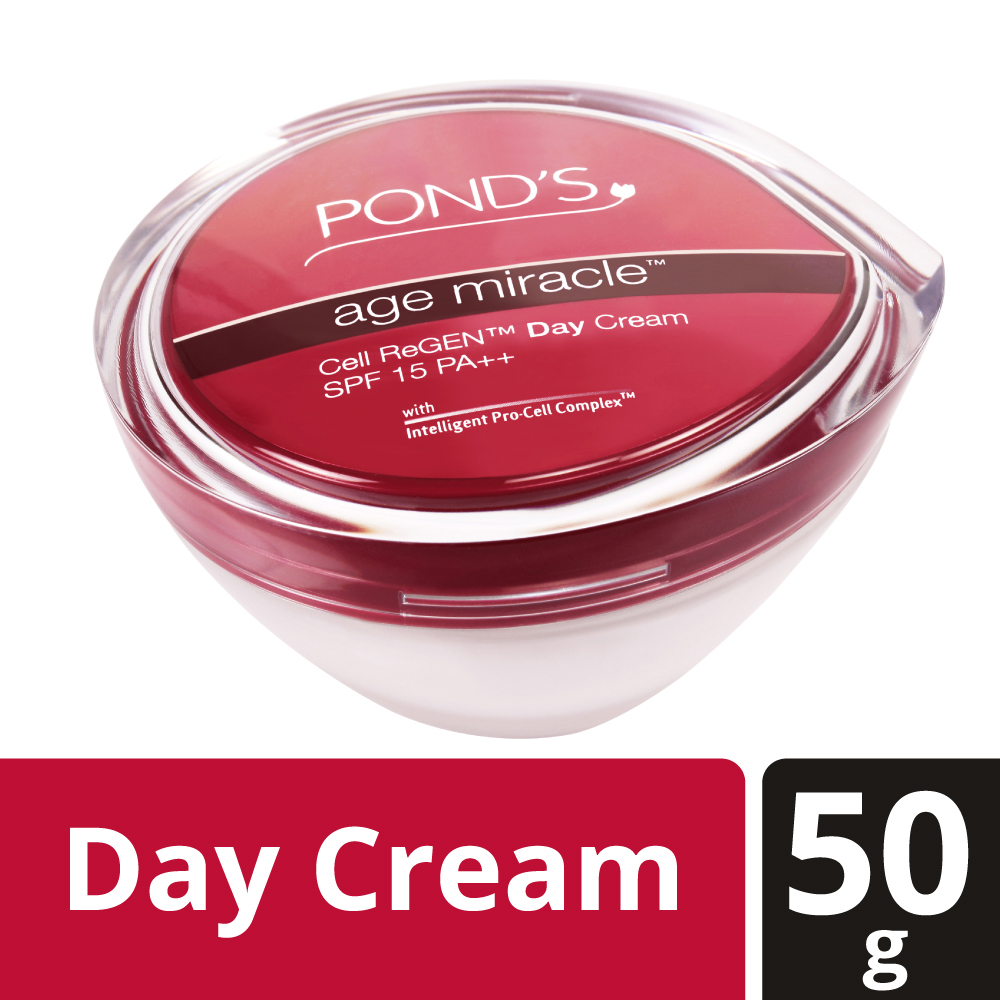 Ponds Age Miracle Cell ReGEN Day Cream SPF 15PA++  available at Nykaa for Rs.599