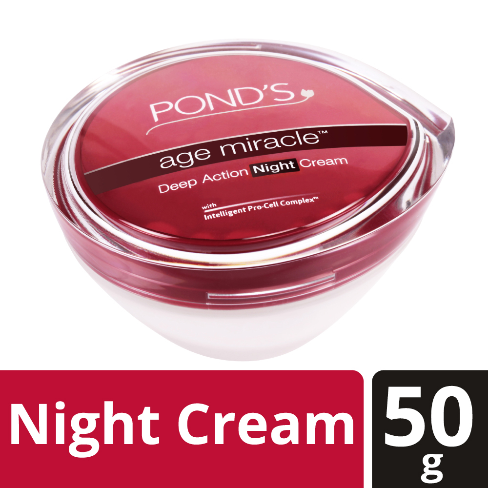 Ponds Age Miracle Night Cream  available at Nykaa for Rs.575