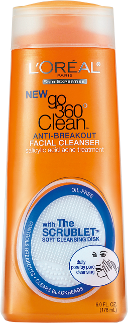L'Oreal Paris Go 360 Clean Anti Breakout Facial Cleanser  available at Nykaa for Rs.420