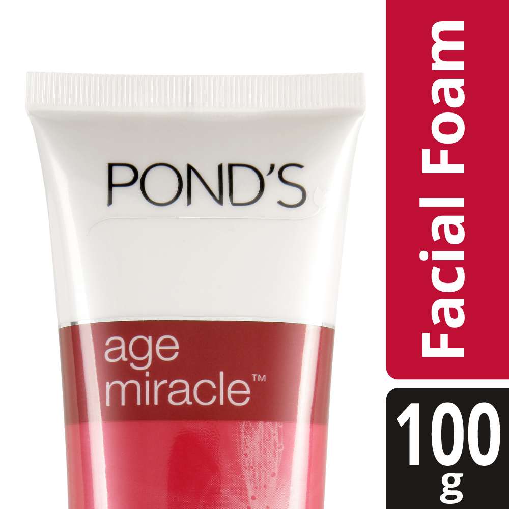 Ponds Age Miracle Daily Regenerating Facial Foam  available at Nykaa for Rs.239