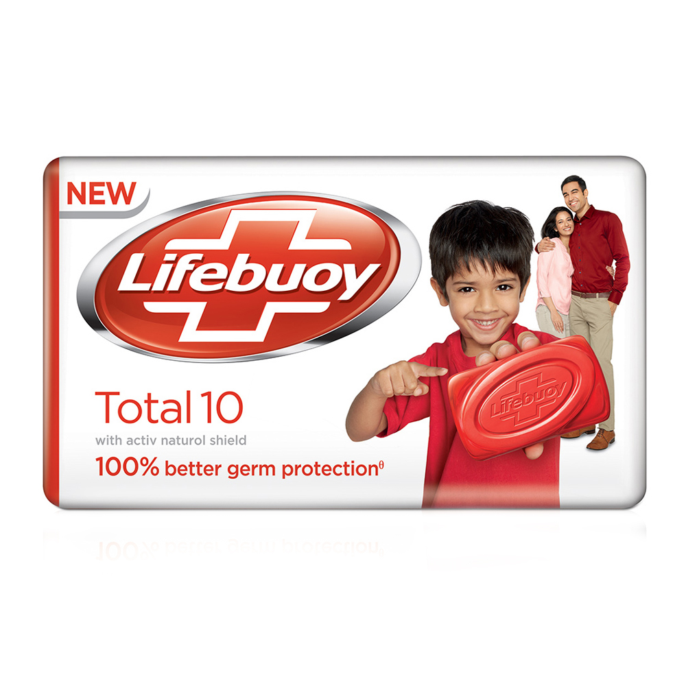 Lifebuoy Total 10 Soap (Extra 5%)  available at Nykaa for Rs.10
