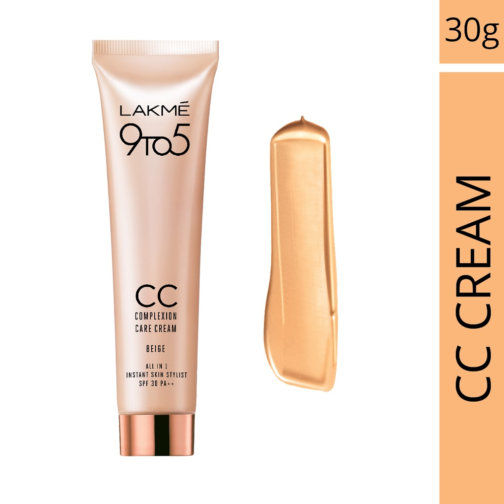 Lakme Complexion Care Face Cream - Beige  available at Nykaa for Rs.206