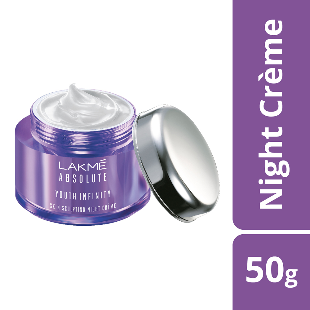 Lakme Absolute Youth Infinity Skin Sculpting Night Creme  available at Nykaa for Rs.638