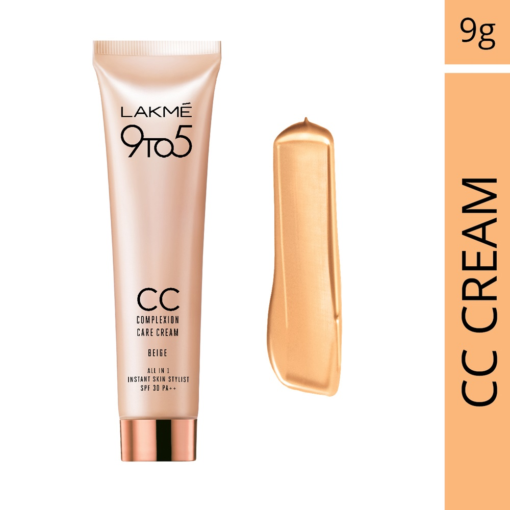 Lakme  9 to 5 Complexion Care Cream  available at Nykaa for Rs.86