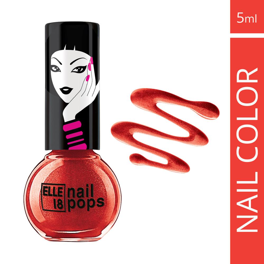 Elle 18 Nail Pops Nail Polish - Shade 118  available at Nykaa for Rs.50