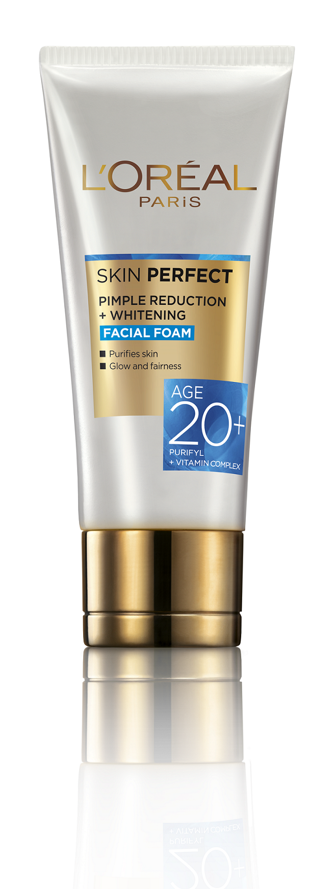 L'Oreal Paris Age 20+ Skin Perfect Facial Foam  available at Nykaa for Rs.84
