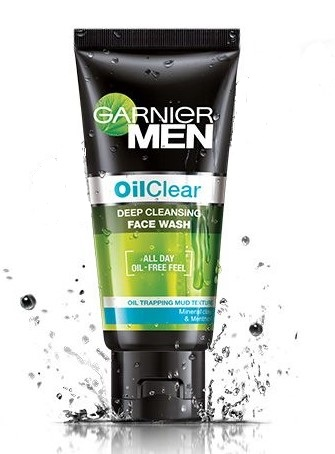 Garnier Men Oil Clear Face Wash  available at Nykaa for Rs.165
