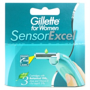 Gillette For Women Sensor Excel  available at Nykaa for Rs.210