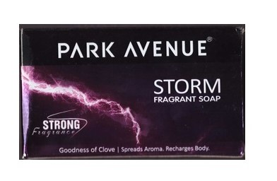 Park Avenue Storm Soap  available at Nykaa for Rs.21