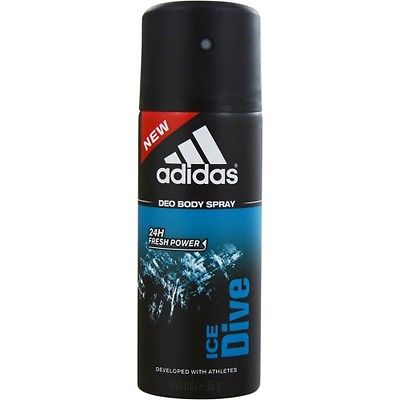 Adidas Ice Dive Deodorant Spray For Men  available at Nykaa for Rs.199