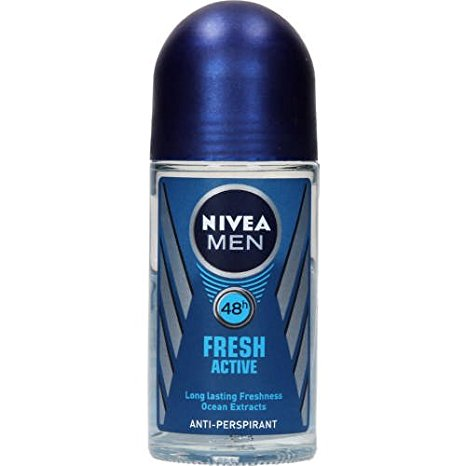 Nivea Fresh Active Deodorant Roll On For Men  available at Nykaa for Rs.132